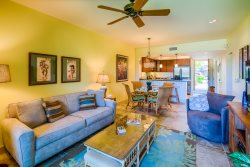 Hali`i Kai 3C Beautiful Quiet Ground Level 2bd/2ba Updated with Tile & Tropical Furnishings