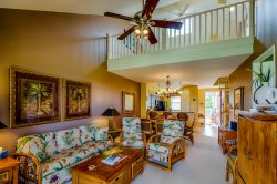 Waikoloa Fairway Villa F31 Beautiful Penthouse Condo Overlooking Golf Course and Two Levels with Loft