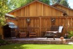 Gas barbeque in backyard patio area, NW Federal Street, sleeps 4 pet friendly