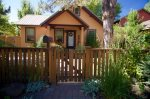 Living room with fireplace, sectional sofa, LCD Flat screen TV, Pet Friendly