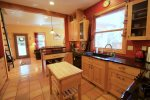 Kitchen with view of backyard, NW Federal, Sleeps 4