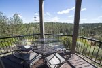View from deck, River Ridge 2, sleeps 6, Mt. Bachelor Village Resort Bend Oregon
