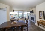 Gorgeous fully equipped gourmet kitchen with granite counter tops