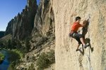 Epic climbing routes at Smith Rock National Park