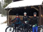 Grab your friends, fat tire mountain bikes and ride in the snow in Bend, Oregon