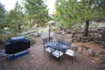 Beautiful, full mature landscape, outdoor dining and barbeque