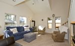 Downtown pet friendly Bend Oregon vacation rental on NW Hartford Avenue , Sleeps 10