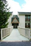 LeatherBark_105B - SOPHISTICATED MOUNTAIN RETREAT!  3 bedroom, 2 bath, Lower Level, Large Ground Level Deck with yard access.