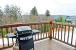 Gas Grill on back deck