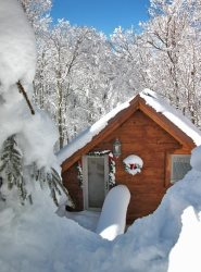 South Westridge 47GH - Snow Flurry Cabin is the little sister to the big South Westridge 47. Use for overflow or book alone!