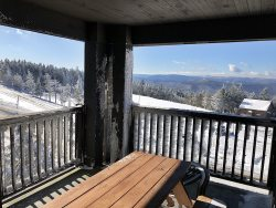 Rimfire 352-  2 bedroom, Village Center, Massive Deck and VIEWS! VIEWS!