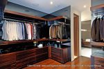 Spacious walk in closets