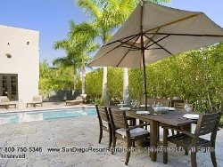 Enjoy the sun in fully furnished patio