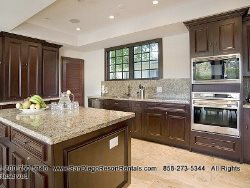 Spacious chefs kitchen