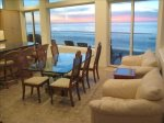 Have beautiful coastal view from the comfort of spacious family style dining area