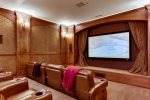 This luxury estate has state of the art, sound proof Blu-ray theater room