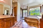 Grand master bathroom