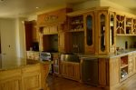Large gourmet kitchen with all new applicances.