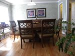 Fully Appointed Dinning Room