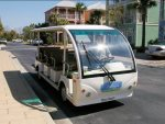 Complimentary Seasonal Trolley for Daily Trips to the Beach