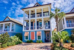 Gone Coastal **Just 2.5 Block away from the beach**5 Bedroom, 4 full bath home, 3 Levels, 7 LED TVs.
