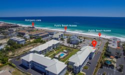 Beachaholic ~Newly Renovated 3 Bed, 3 Bath Condo with 2 Master Suites, 3rd Floor Gulf Facing Unit with Unobstructed Ocean Views, Extra Large Balcony to Enjoy Magnificent Sunsets