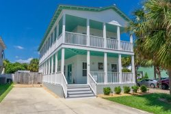 Namaste Beaches~Fabulous newly decorated home w/ Private Pool & Just one block to beach!!!