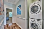 Full Sized Washer and Dryer Located on the Second Floor