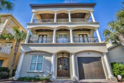 Suzie Q By The Sea~ -Great Gulf Views! 7 Bedrooms, 8 total bathrooms (6 full), Private Pool & Beach with BEACH SERVICE INCLUDED, 2 Living rooms and 2 Kitchens!!!