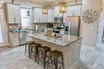 Stainless Steel Appliances, Granite Counter Tops, and Under Counter Ice Maker