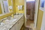 Second Floor King Master Bath with Tub/Shower Combo