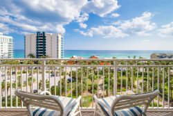 Beach Blessing~2 Bedroom/2 Bath Sterling Shores Unit on 6th floor with Gulf Views Sleeps 7