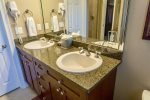 Double Vanity First Floor Master Bath