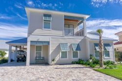 Shore Beats Work~ 6 Bedroom, 5 Bath New Custom Beach Home with Private Pool and Golf Cart!!!