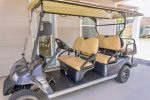 Enjoy the convenience of the street legal 6 Seater Golf Cart
