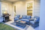 Comfortable Seating available on the back Patio Grilling Area