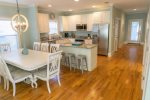 Fully Equipped Kitchen with Granite Counters and Kitchen Island
