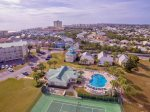 Aerial View of the Home and Community Amenities Right in your Back Yard