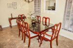 Beautiful Dining Area with Seating for 6