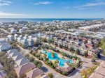 Arial View of the Amazing Resort Style Community Pool