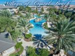 Overview of the Villages of Crystal Beach Fabbulous Pool