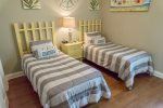 Second Floor Bedroom with Twin Beds