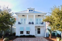 Vitamin Sea ~ 5 Star Luxury awaits you with 2 living areas, 2 master suites and large covered porch!