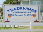 Tradewinds Condominums - Don`t Miss The Sign