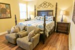 First Floor King Master Suite
