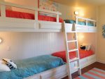 Second Floor Custom Built Bunk Beds