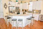 Fully Equipped Kitchen with Everything Needed to Cook Fabulous Meals