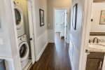 Laundry Located in the Second Floor Hall Area with Full Sized Washer and Dryer
