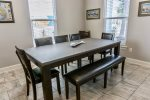 Large Dining Area with Seating for 8