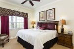 Come home to comfort after a long day in this master bedroom